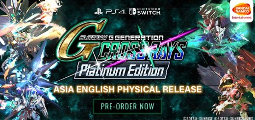 SD Gundam G Generation Cross [Rays Platinum Edition], SD Gundam G Generation Cross Rays English, SD Gundam G Generation Cross Rays Platinum Edition, SD Gundam G Generation Cross Rays, PS4, PlayStation 4, Switch, Nintendo Switch, Asia, release date, price, pre-order, features, Trailer, Screenshots, Bandai Namco