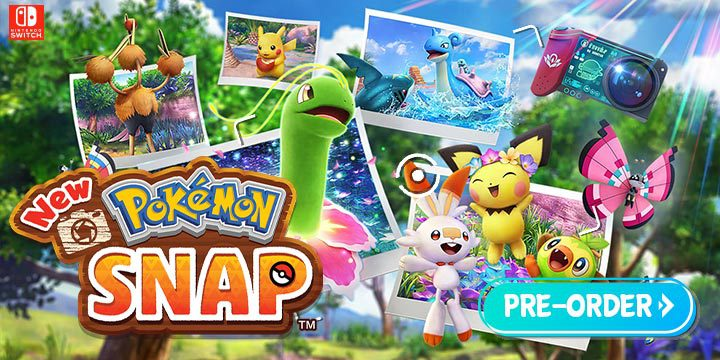 New Pokemon Snap, Pokemon, Nintendo Switch, Switch, US, gameplay, features, release date, price, trailer, screenshots, Nintendo