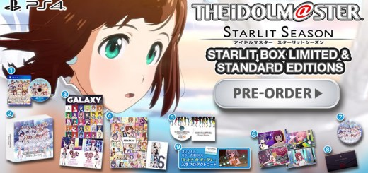 The Idolm@ster: Starlit Season, The Idolmaster: Starlit Season, PlayStation 4, PS4, gameplay, release date, price, trailer, Japan, pre-order now, Bandai Namco, Standard Edition, Limited Edition, Starlit Box Limited Edition, The IdolMaster