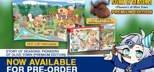 Story of Seasons, Marvelous, Story of Seasons: Pioneers of Olive Town, gameplay, features, release date, price, trailer, screenshots, Switch, Nintendo Switch, update, Japan, US, Asia, Europe, Premium Edition