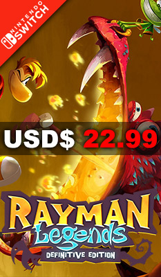 Rayman Legends: Definitive Edition (Spanish Cover)