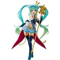 HATSUNE MIKU GT PROJECT 1/7 SCALE PRE-PAINTED FIGURE: RACING MIKU 2018 CHALLENGING TO THE TOP Aquamarine