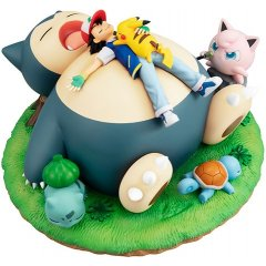 G.E.M. EX SERIES POCKET MONSTERS PRE-PAINTED PVC FIGURE: POKEMON GOOD NIGHT WITH THE SNORLAX Mega House