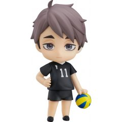 NENDOROID NO. 1443 HAIKYU!! TO THE TOP: OSAMU MIYA [GOOD SMILE COMPANY ONLINE SHOP LIMITED VER.] Orange Rouge