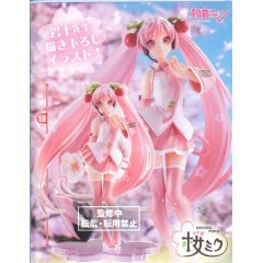 VOCALOID: SAKURA MIKU ORIGINAL ILLUSTRATION FIGURE 2021 VER. Taito