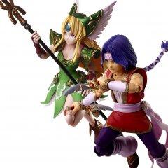 TRIALS OF MANA BRING ARTS: HAWKEYE & RIESZ Square Enix