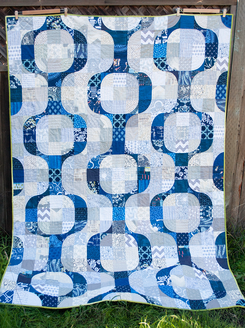 Blogger's Quilt Festival – Mod Pop – Play Crafts : mod quilt - Adamdwight.com