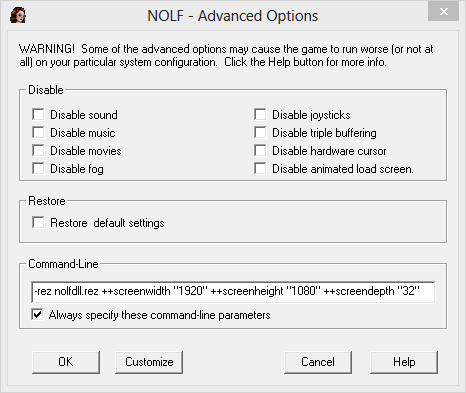 nolf widescreen settings