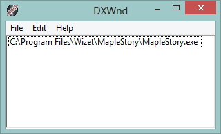 dxwind utility in default configuration