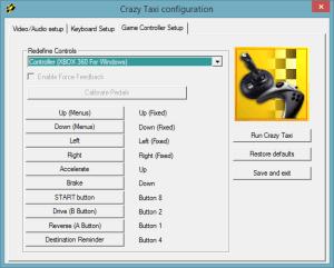 Crazy-Taxi-Controller-Config