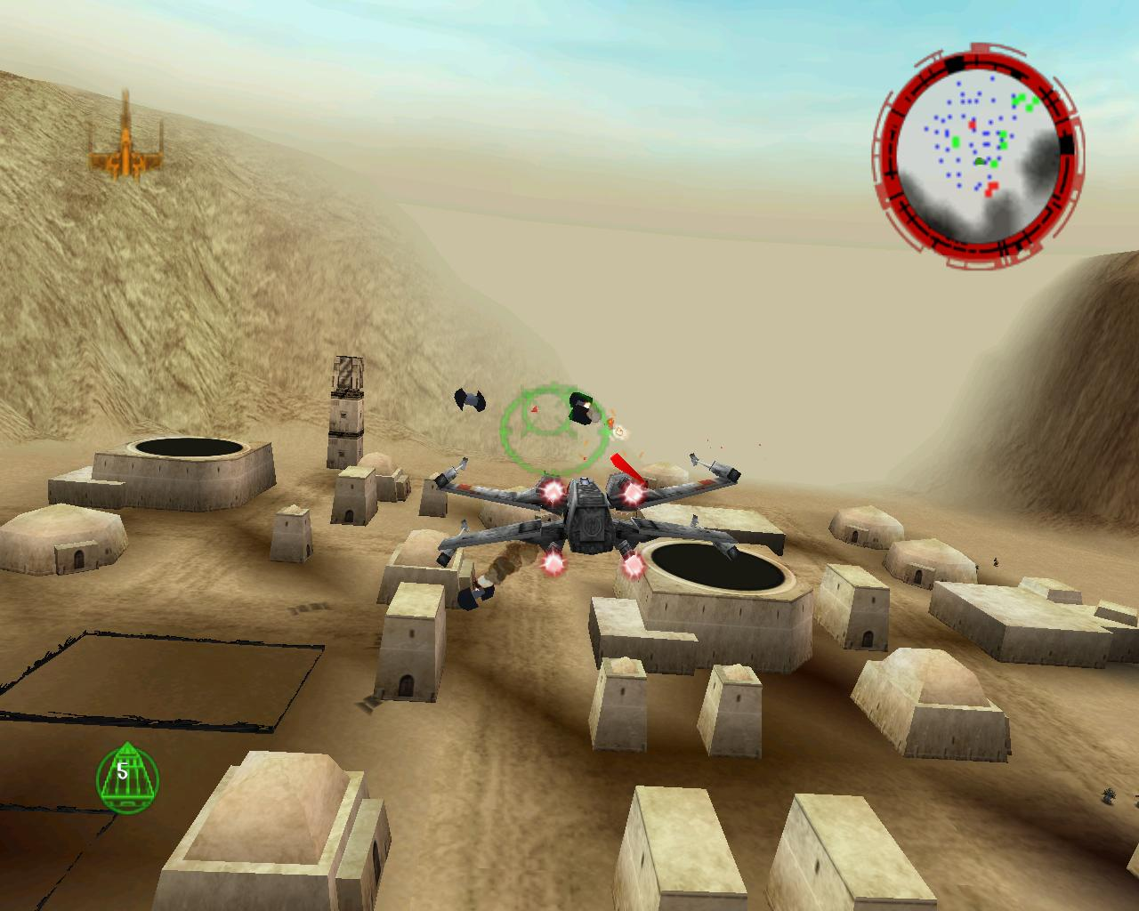 Play Star Wars: Rogue Squadron 3D on your modern PC