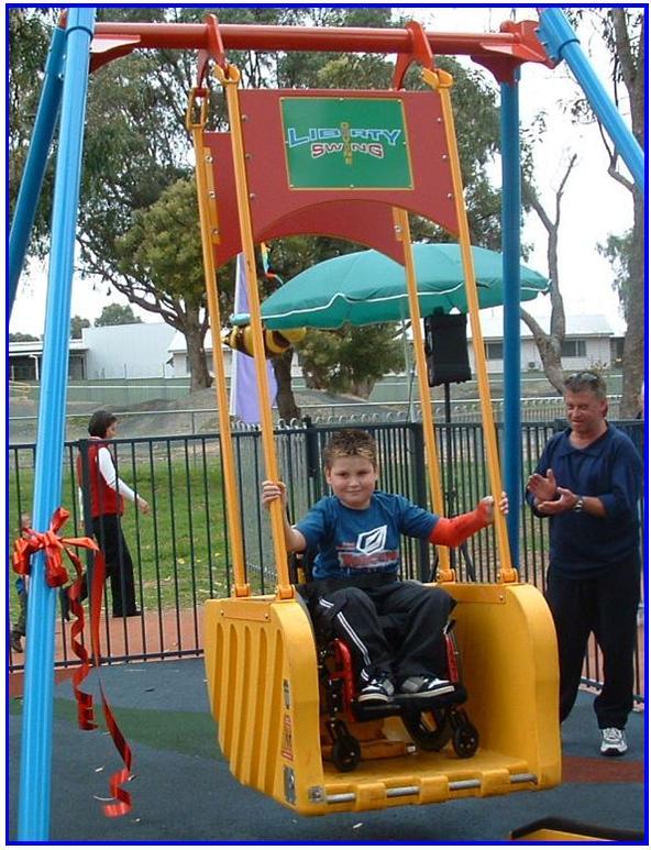 Adapted Playground Swings