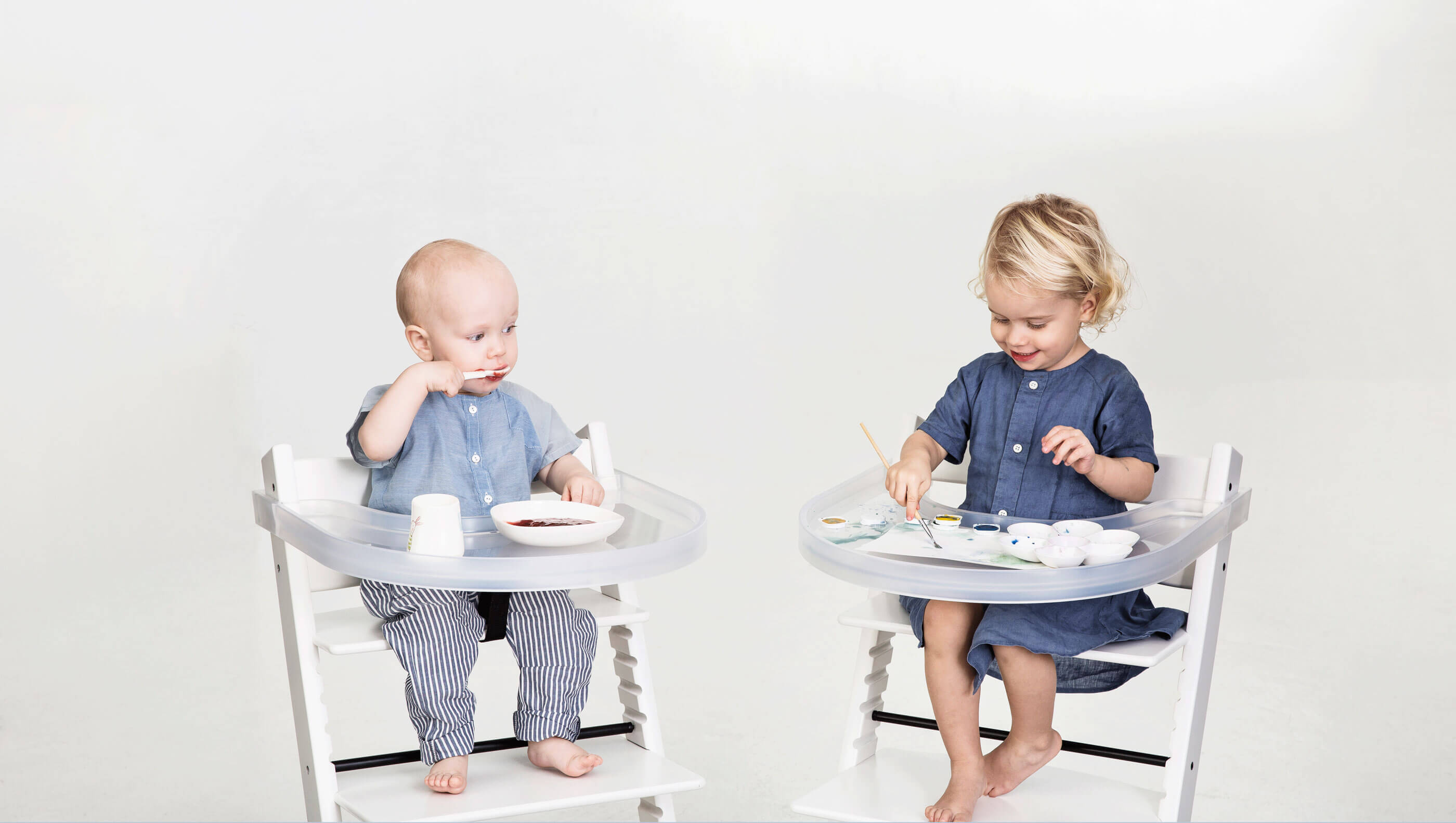 stokke high chair tray saarinen tulip table and chairs playtray der tisch passend für den tripp trapp stuhl