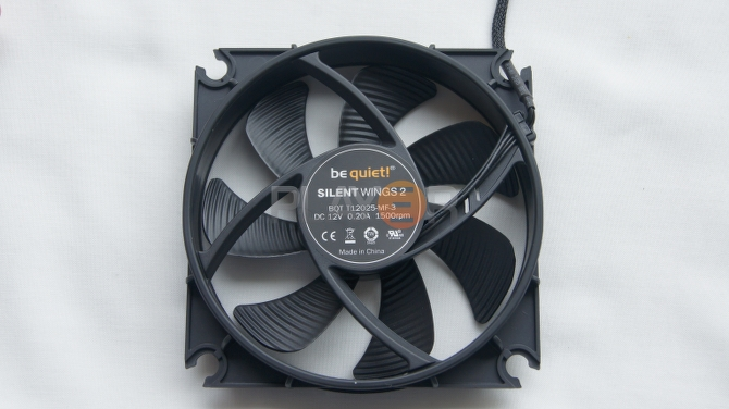 Be Quiet Silent Wings 2 120mm Fan Back