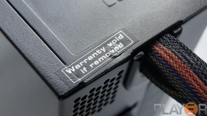 Be Quiet Pure Power L8 530W Warranty Sticker