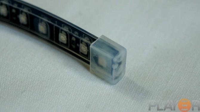 Phobya 30cm Blue LED-flexlight End