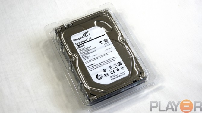Seagate 3TB Packaging