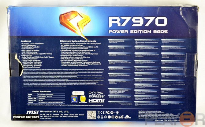 MSI 7970 Power Edition Boost Review | Play3r