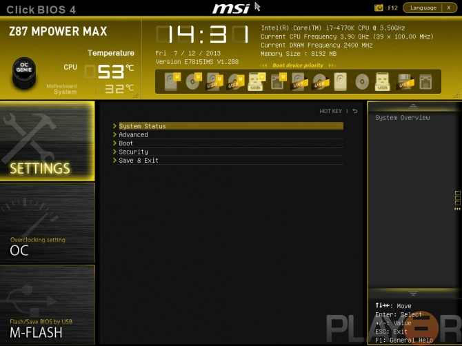 MSI Z87 MPOWER MAX Review | Play3r