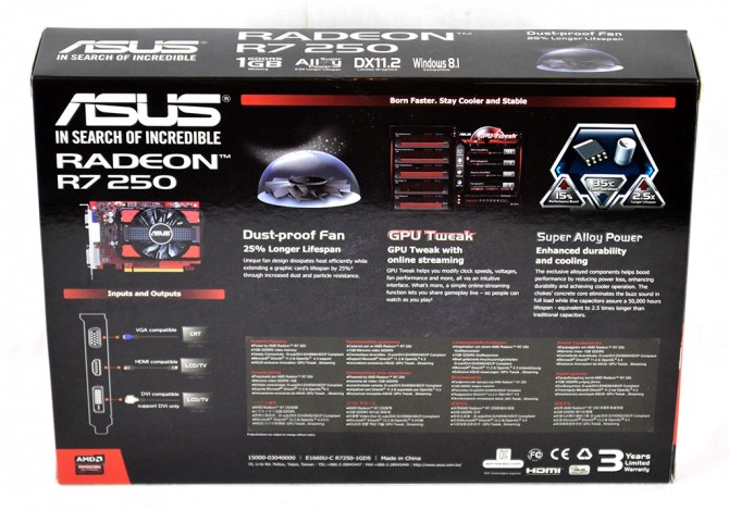 ASUS R7 250 1GB Review | Play3r