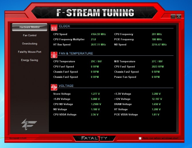 F-Stream Tuning