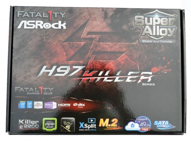 ASRock Fatal1ty H97 Killer Pack Front