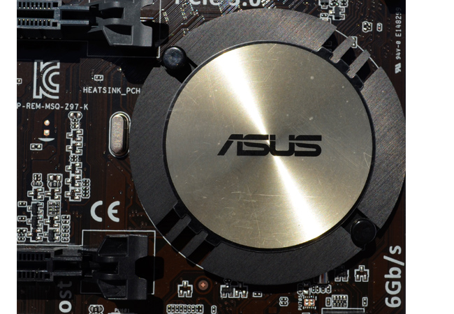 ASUS Z97-K close z97 hs