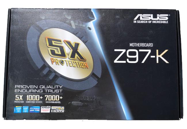 ASUS Z97-K pack front
