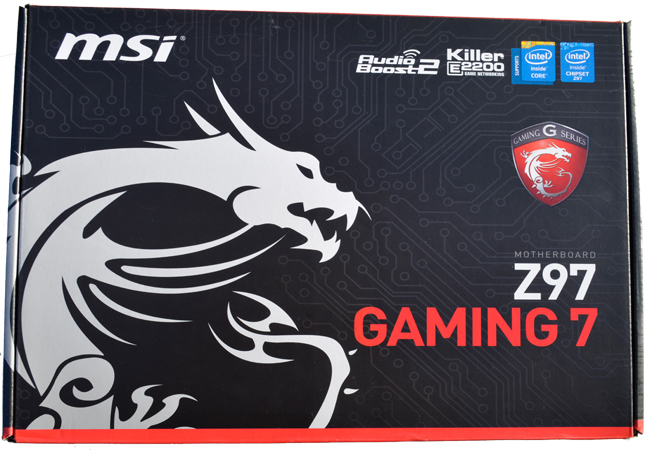 MSI Z97 GAMING 7 Pack Front