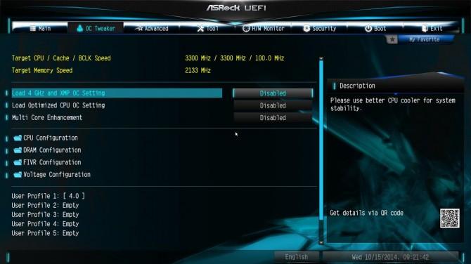 ASRock X99 Extreme6 BIOS2