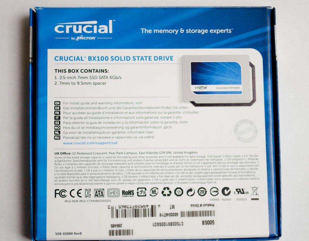 Crucial BX100 500GB SSD_12