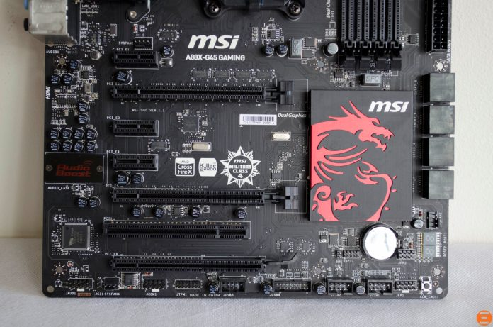 MSI A88X-G45 Gaming Motherboard_4