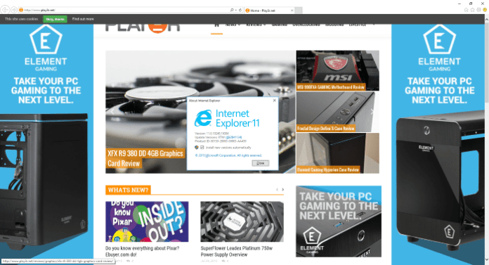 Introducing Microsoft Edge - Oh wait, we mean Internet Explorer 11