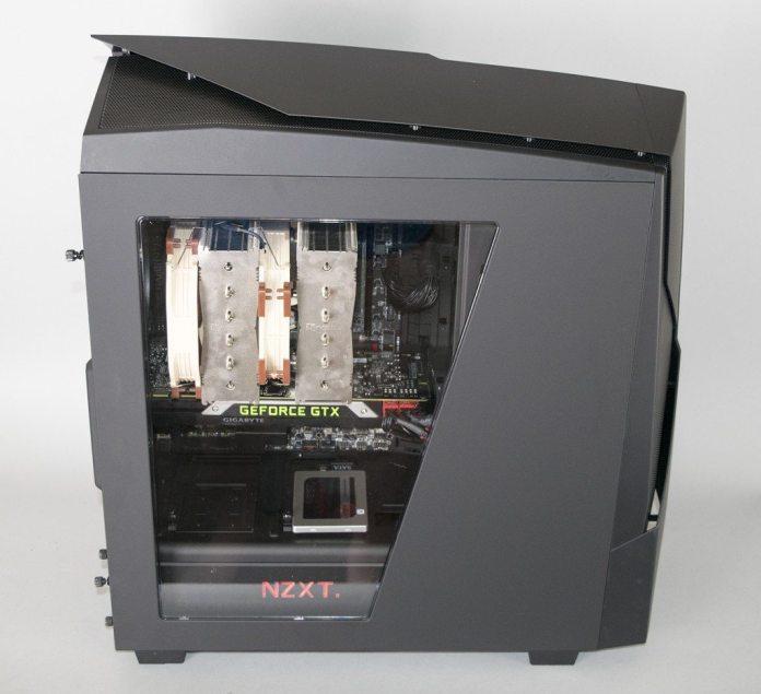 NZXT Noctis 450 Build 4