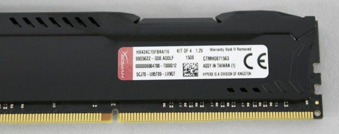 HyperX Fury DDR4 Review 5