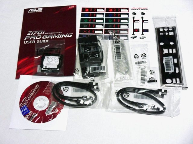 ASUS Z170I PRO GAMING - Accessories