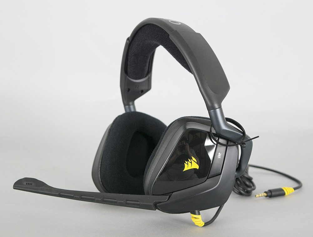 corsair void stereo gaming headset 50mm drivers