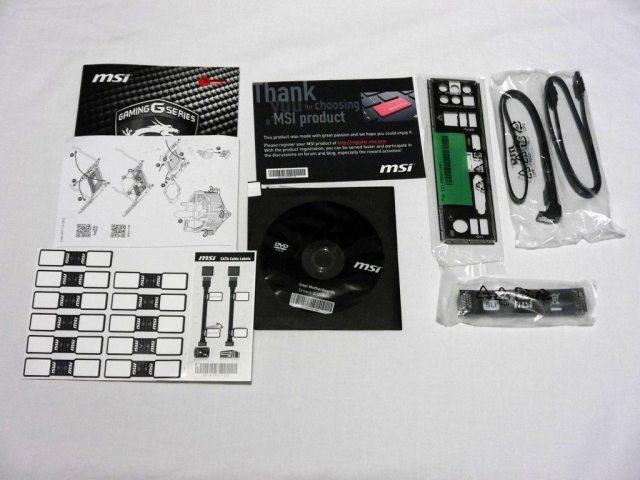 MSI Z170A KRAIT GAMING - Accessories