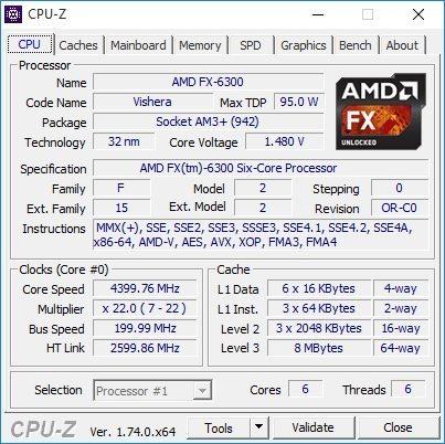 CPU Z Vibox