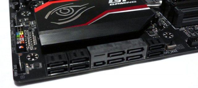 GIGABYTE X99 Gaming 5P - SATA