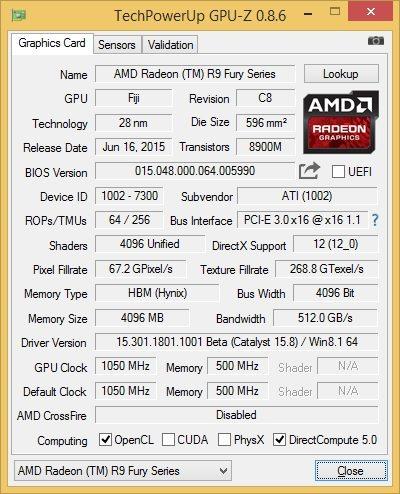 Stock GPU-Z