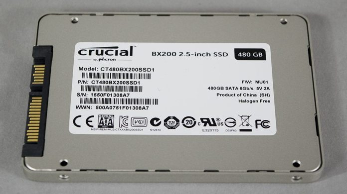 Crucial BX200 480GB SSD Review 4
