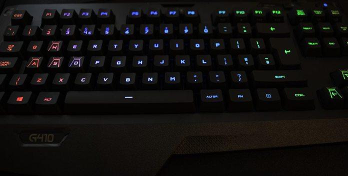 Logitech G410 RGB Lighting 2