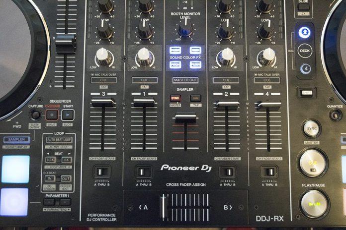 DDJ-RX Centre Panel