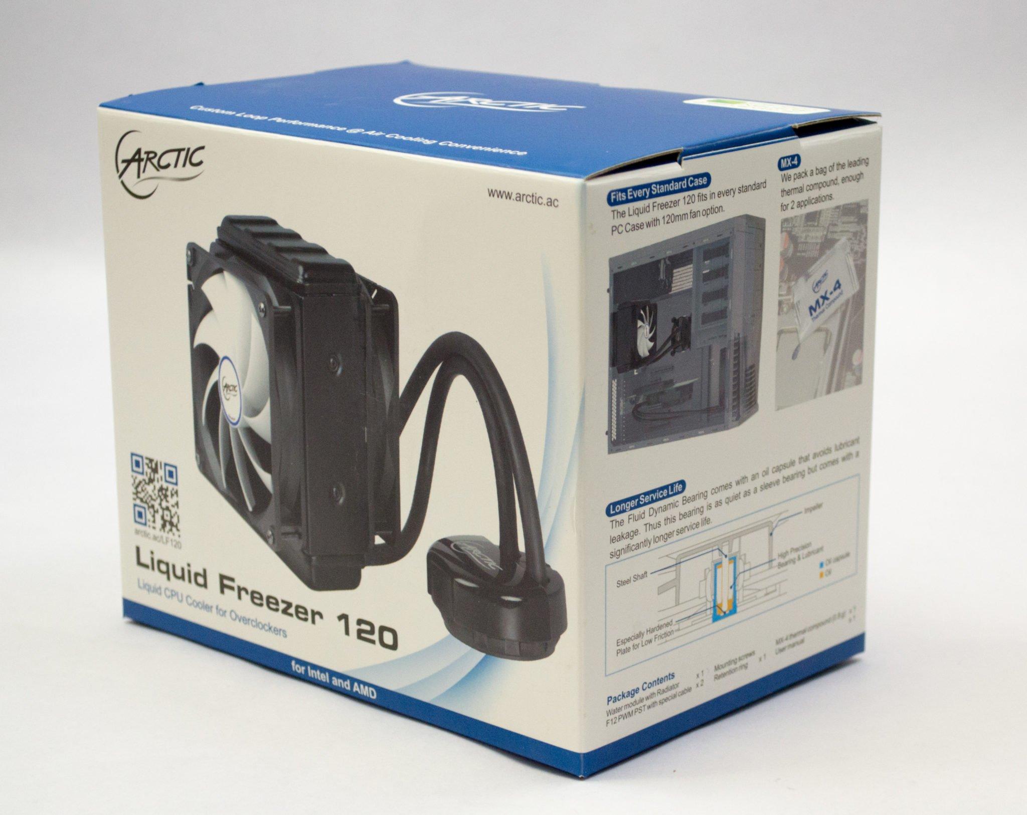 Arctic Liquid Freezer 120 AIO Cooler Review | Play3r