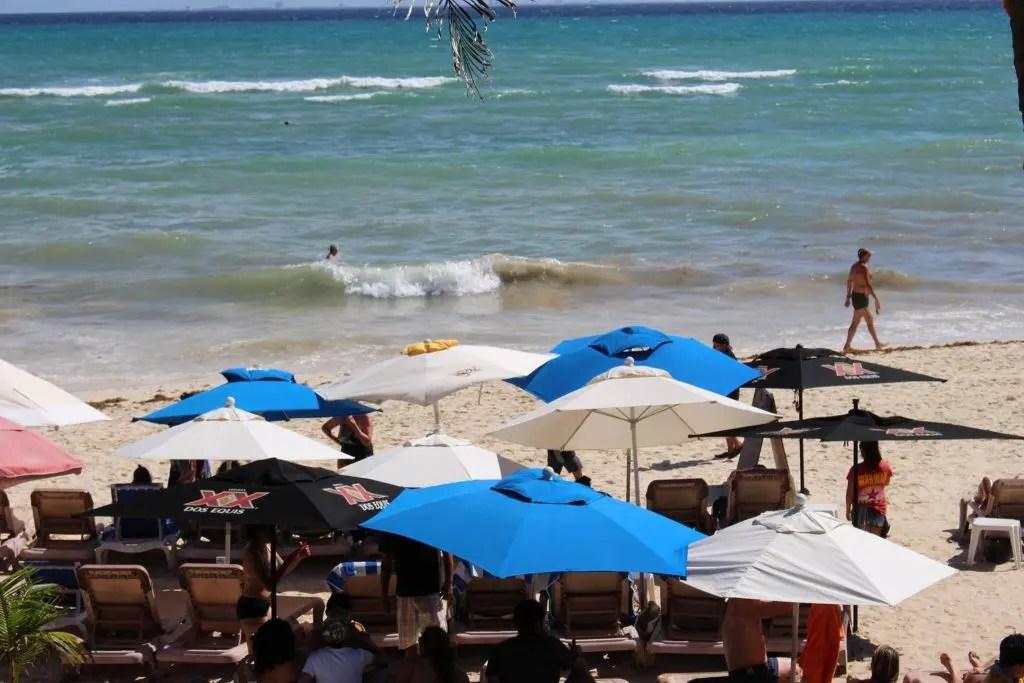Calle 2 Beach in Playa del Carmen