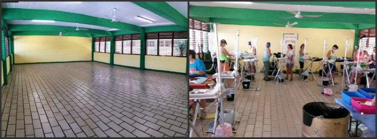 Before and after picture at ViDAS