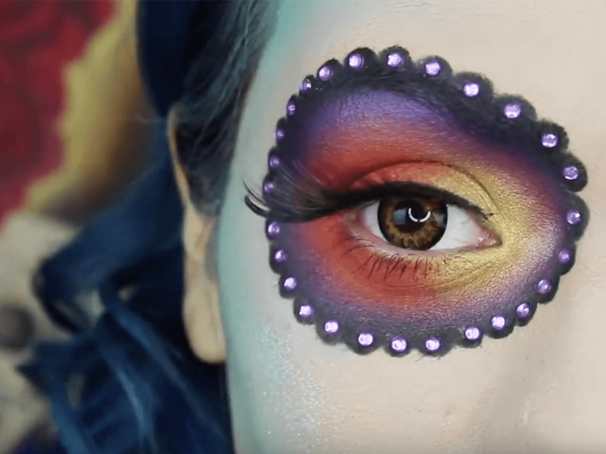 Mexican day of the dead make up tutorial step by step day of the dead makeup tutorial step by step baditri Images