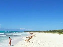 Playacar beach