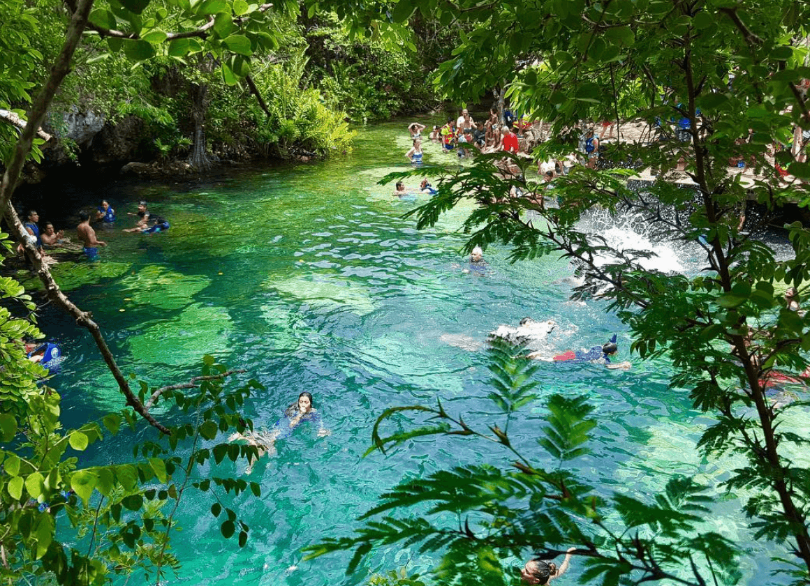 cenote in Playa del Carmen